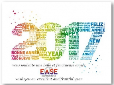 EASE Consulting wish you an excellent year